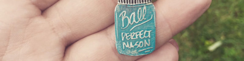 So Beautifully Broken's Original Ball Mason Jar Necklace
